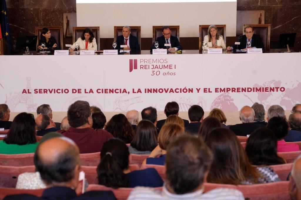 Pedro Duque durante el Acto organizado por Premios Rei Jaume I (1)