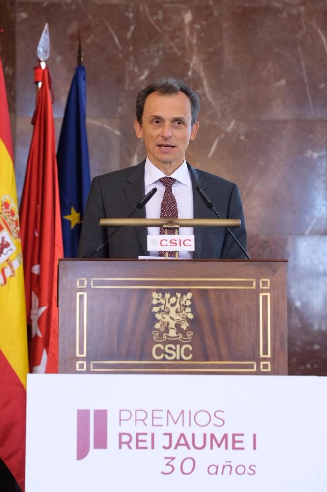 Pedro Duque durante el Acto organizado por Premios Rei Jaume I (2)