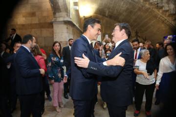 Pedro Sánchez puig participa en los actos de conmemoración del Día de la Comunidad Valenciana (2)