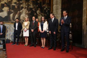 Pedro Sánchez puig participa en los actos de conmemoración del Día de la Comunidad Valenciana (4)