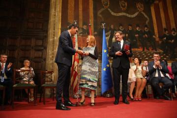 Pedro Sánchez puig participa en los actos de conmemoración del Día de la Comunidad Valenciana (8)
