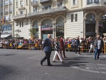 Procesión cívica y ofrenda floral a Jaume I (1)