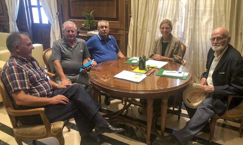 Reunió amb el Club de Golf Costa Azahar