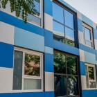 Aulas con instalaciones modulares, rendimiento y calidad