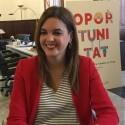 Sandra Gómez, proclamada candidata a la alcaldía de València para las elecciones municipales de mayo