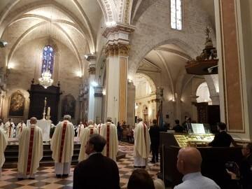 l Cardenal Cañizares preside el solemne Te Deum en la Catedral de Valencia con motivo del 9 de Octubre (1)