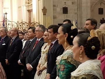 l Cardenal Cañizares preside el solemne Te Deum en la Catedral de Valencia con motivo del 9 de Octubre (4)