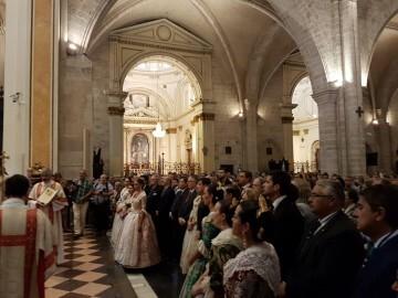 l Cardenal Cañizares preside el solemne Te Deum en la Catedral de Valencia con motivo del 9 de Octubre (5)