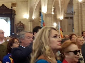 l Cardenal Cañizares preside el solemne Te Deum en la Catedral de Valencia con motivo del 9 de Octubre (7)