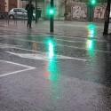 El temporal corta la Pista de Silla, inunda una estación de Metrovalencia y deja atrapados en un coche