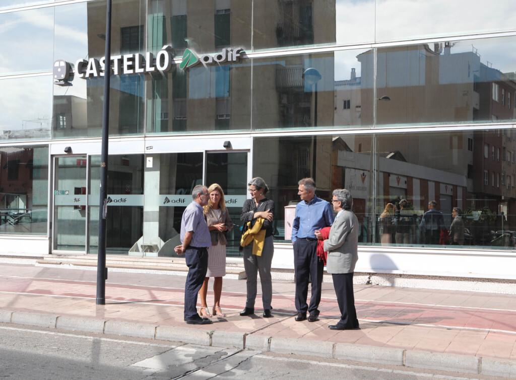 10-11-2018 Marco afirma que l'ampliació dels Rodalies amb el Maestrat consolidarà la capitalitat econòmica i cultural de Castelló