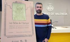 VALENCIA  2018-11-09 El regidor de Cultura Festiva, Pere Fuset, explica en roda de premsa el programa de celebració del segon aniversari de la Declaració de les Falles com a Patrimoni Immaterial de la Humanitat.