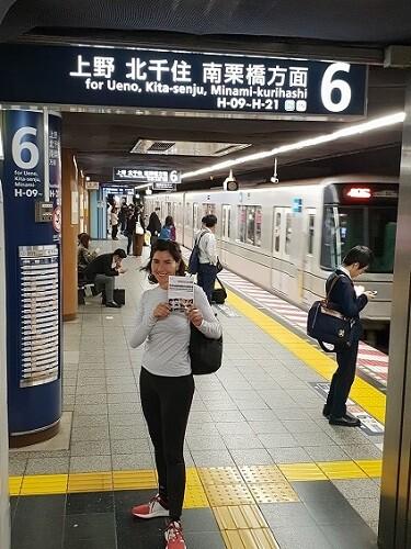3 Cada mirada es única en la estación de metro de Tokio