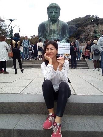 8 Cada mirada es única junto al gran Buda de Kamakura