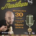 CARTEL MONOLOGO PITER PARDO