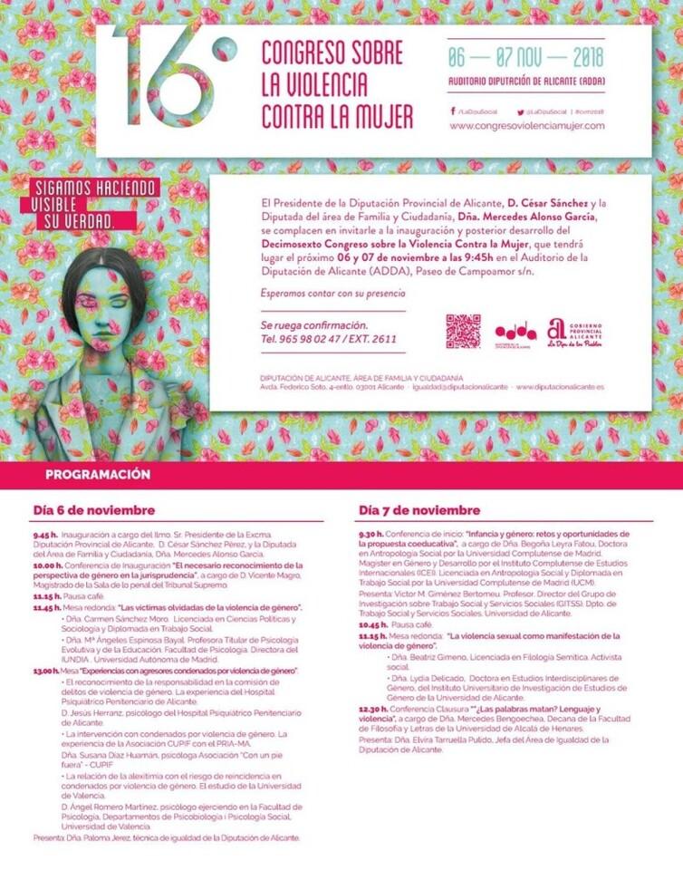 Congreso Violencia contra Mujer 2018
