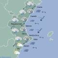 El Tiempo Predicción por Comunidades Autónomas Comunitat Valenciana Hoy Mapa Sign 00 12 h Agencia Estatal de Meteorología AEMET Gobierno de España