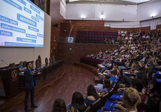 VALENCIA 6/9/2018  Erasmus de la Universitar de valència. FOTO MIGUEL LORENZO