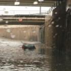 Les pluges intenses col·lapsen València