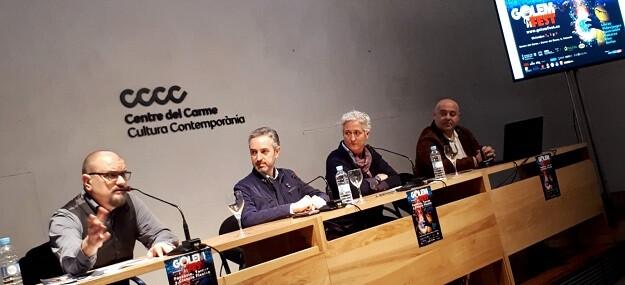 Presentación del Golem Fest. (Foto-Consorci de Museus).