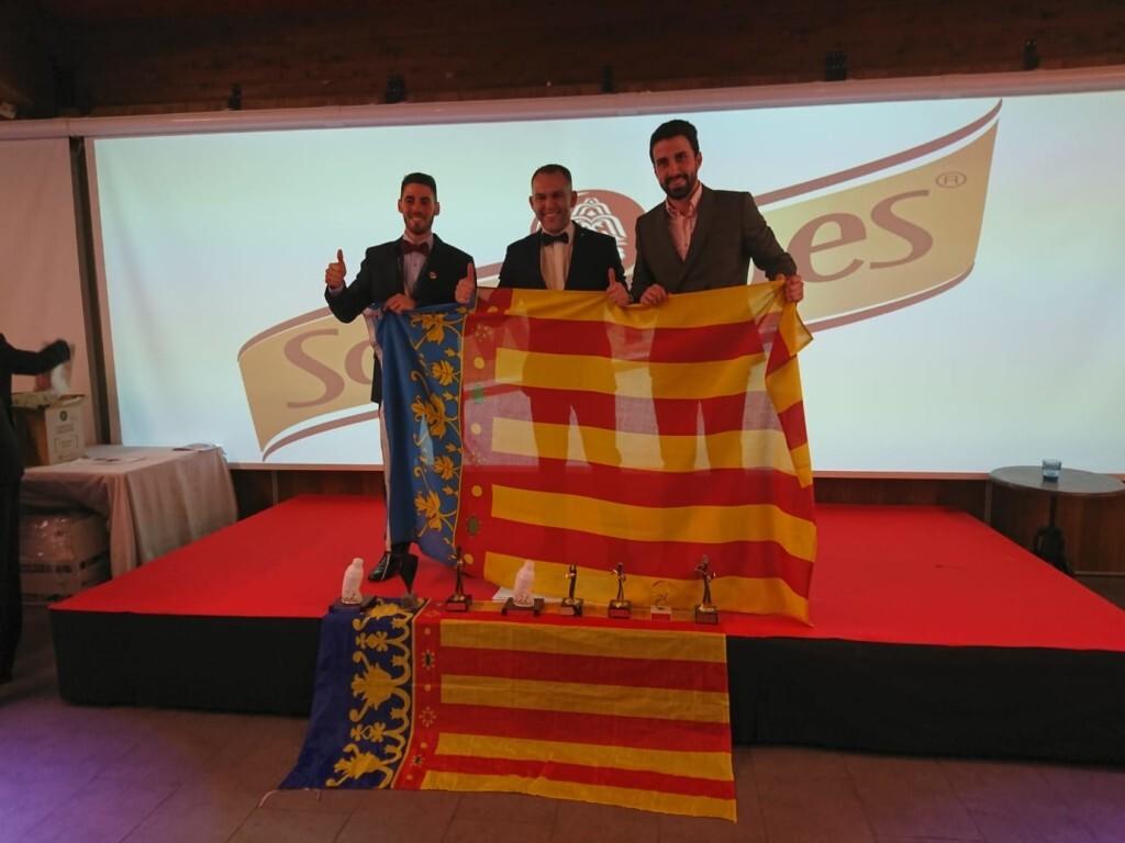 Sergio Valls, Iván Talens y Sergio SAntamaría
