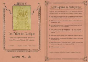 1130 Programa. Aniversari Falles Patrimoni