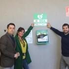 L'Ajuntament instal·la un nou desfibril·lador en l'Estadi Castàlia