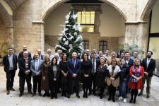 3-Las diputadas y diputados de la corporación provincial antes del último pleno del año