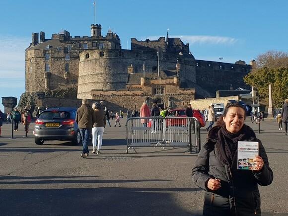 4 La delegada de LIBRO VUELA LIBRE visitando los lugares más emblemáticos de Escocia