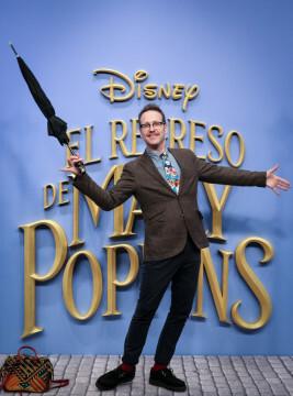 MADRID, SPAIN - DECEMBER 11: Joaquin Reyes attends 'El Regreso de Mary Poppins' premiere at Kinelpolis cinema on December 11, 2018 in Madrid, Spain. (Photo by Pablo Cuadra/Getty Images for Walt Disney Studios)