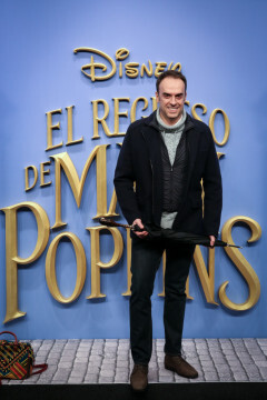 MADRID, SPAIN - DECEMBER 11: Jesus Pascual attends 'El Regreso de Mary Poppins' premiere at Kinelpolis cinema on December 11, 2018 in Madrid, Spain. (Photo by Pablo Cuadra/Getty Images for Walt Disney Studios)