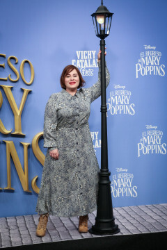 MADRID, SPAIN - DECEMBER 11: Laura Caballero attends 'El Regreso de Mary Poppins' premiere at Kinelpolis cinema on December 11, 2018 in Madrid, Spain. (Photo by Pablo Cuadra/Getty Images for Walt Disney Studios)