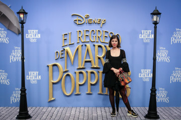 MADRID, SPAIN - DECEMBER 11: Actress Alba Messa attends 'El Regreso de Mary Poppins' premiere at Kinelpolis cinema on December 11, 2018 in Madrid, Spain. (Photo by Pablo Cuadra/Getty Images for Walt Disney Studios)
