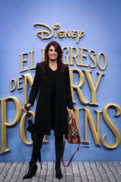MADRID, SPAIN - DECEMBER 11: Actress Elia Galera attends 'El Regreso de Mary Poppins' premiere at Kinelpolis cinema on December 11, 2018 in Madrid, Spain. (Photo by Pablo Cuadra/Getty Images for Walt Disney Studios)