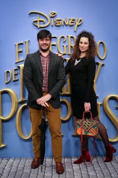 MADRID, SPAIN - DECEMBER 11: Martin Barreiro (L) and Ana Martino (R) attend 'El Regreso de Mary Poppins' premiere at Kinelpolis cinema on December 11, 2018 in Madrid, Spain. (Photo by Pablo Cuadra/Getty Images for Walt Disney Studios)