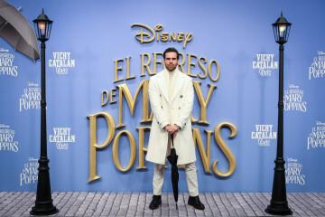 MADRID, SPAIN - DECEMBER 11: Angel Caballero attends 'El Regreso de Mary Poppins' premiere at Kinelpolis cinema on December 11, 2018 in Madrid, Spain. (Photo by Pablo Cuadra/Getty Images for Walt Disney Studios)
