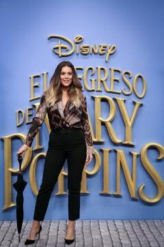 MADRID, SPAIN - DECEMBER 11: Lorena Gomez attends 'El Regreso de Mary Poppins' premiere at Kinelpolis cinema on December 11, 2018 in Madrid, Spain. (Photo by Pablo Cuadra/Getty Images for Walt Disney Studios)