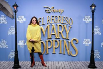 MADRID, SPAIN - DECEMBER 11: Actress Ana Arias attends 'El Regreso de Mary Poppins' premiere at Kinelpolis cinema on December 11, 2018 in Madrid, Spain. (Photo by Pablo Cuadra/Getty Images for Walt Disney Studios)