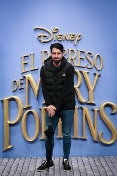 MADRID, SPAIN - DECEMBER 11: Ruben de la Red attends 'El Regreso de Mary Poppins' premiere at Kinelpolis cinema on December 11, 2018 in Madrid, Spain. (Photo by Pablo Cuadra/Getty Images for Walt Disney Studios)