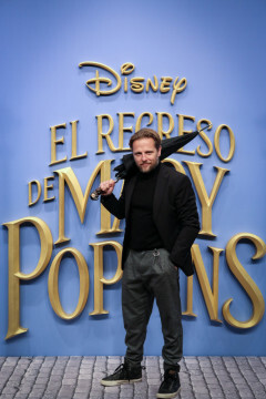 MADRID, SPAIN - DECEMBER 11: Actor Juan Diaz attends 'El Regreso de Mary Poppins' premiere at Kinelpolis cinema on December 11, 2018 in Madrid, Spain. (Photo by Pablo Cuadra/Getty Images for Walt Disney Studios)