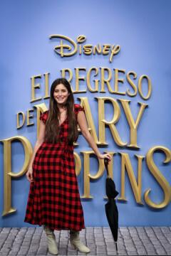 MADRID, SPAIN - DECEMBER 11: Paula Moya attends 'El Regreso de Mary Poppins' premiere at Kinelpolis cinema on December 11, 2018 in Madrid, Spain. (Photo by Pablo Cuadra/Getty Images for Walt Disney Studios)