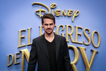 MADRID, SPAIN - DECEMBER 11: Actor Gonzalo Ramos attends 'El Regreso de Mary Poppins' premiere at Kinelpolis cinema on December 11, 2018 in Madrid, Spain. (Photo by Pablo Cuadra/Getty Images for Walt Disney Studios)