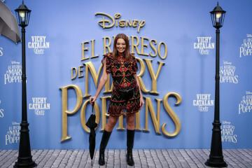 MADRID, SPAIN - DECEMBER 11: Actress Lucia Hoyos attends 'El Regreso de Mary Poppins' premiere at Kinelpolis cinema on December 11, 2018 in Madrid, Spain. (Photo by Pablo Cuadra/Getty Images for Walt Disney Studios)
