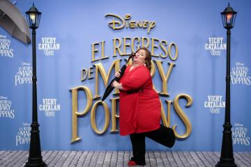 MADRID, SPAIN - DECEMBER 11: Actress Itziar Castro attends 'El Regreso de Mary Poppins' premiere at Kinelpolis cinema on December 11, 2018 in Madrid, Spain. (Photo by Pablo Cuadra/Getty Images for Walt Disney Studios)