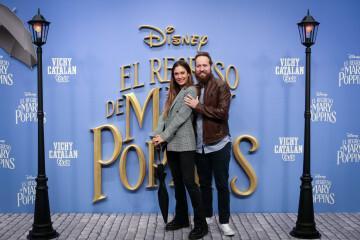 MADRID, SPAIN - DECEMBER 11: (L-R) Grace Villarreal and Jake Henson attend 'El Regreso de Mary Poppins' premiere at Kinelpolis cinema on December 11, 2018 in Madrid, Spain. (Photo by Pablo Cuadra/Getty Images for Walt Disney Studios)