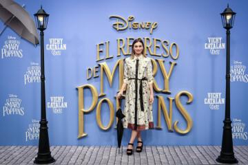 MADRID, SPAIN - DECEMBER 11: Actress Norma Ruiz attends 'El Regreso de Mary Poppins' premiere at Kinelpolis cinema on December 11, 2018 in Madrid, Spain. (Photo by Pablo Cuadra/Getty Images for Walt Disney Studios)