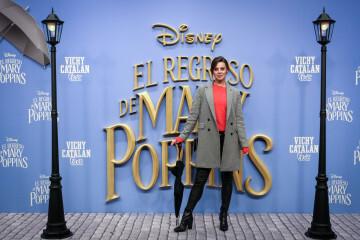 MADRID, SPAIN - DECEMBER 11: Actress Clara Alvarado attends 'El Regreso de Mary Poppins' premiere at Kinelpolis cinema on December 11, 2018 in Madrid, Spain. (Photo by Pablo Cuadra/Getty Images for Walt Disney Studios)