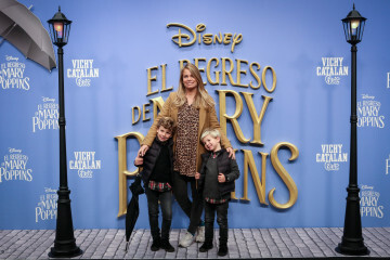 MADRID, SPAIN - DECEMBER 11: Carla Goyanes attends 'El Regreso de Mary Poppins' premiere at Kinelpolis cinema on December 11, 2018 in Madrid, Spain. (Photo by Pablo Cuadra/Getty Images for Walt Disney Studios)