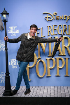 MADRID, SPAIN - DECEMBER 11: Actor Luis Larrodera attends 'El Regreso de Mary Poppins' premiere at Kinelpolis cinema on December 11, 2018 in Madrid, Spain. (Photo by Pablo Cuadra/Getty Images for Walt Disney Studios)