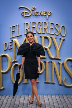 MADRID, SPAIN - DECEMBER 11: Paula Ordovas attends 'El Regreso de Mary Poppins' premiere at Kinelpolis cinema on December 11, 2018 in Madrid, Spain. (Photo by Pablo Cuadra/Getty Images for Walt Disney Studios)